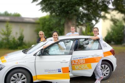 Vorschaubild zur Meldung: Neues Azubi-Mobil