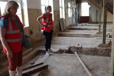Ausschreibungen für die Sanierung der Stadtmauer im Klosterviertel