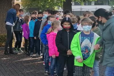 Foto zur Meldung: Alljährlicher Probealarm an der Burgschule