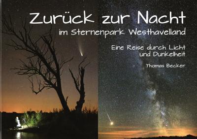 """Foto zur Meldung: """"Zurück zur Nacht im Sternenpark Westhavelland"""" - ein tolles Buch von Thomas Becker"""