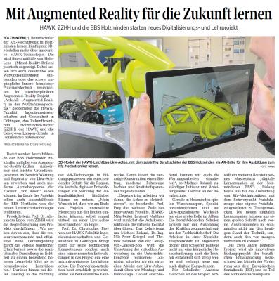 Vorschaubild zur Meldung: Mit Augmented Reality für die Zukunft lernen