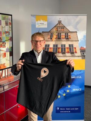 Vorschaubild zur Meldung: Virtueller Gruß zum Tag der deutschen Einheit nach Kyritz:  Herzliche Grüße nach Kyritz zum Tag der deutschen Einheit aus Werne