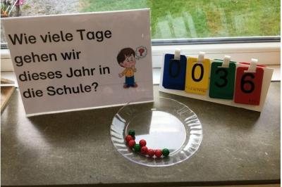 Foto zur Meldung: Klasse 1c: Wie viele Tage gehen wir dieses Jahr zur Schule?