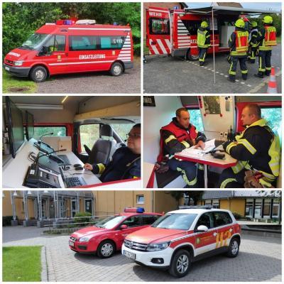 Vorschaubild zur Meldung: Wie wird ein Einsatz der Feuerwehr Vettweiß koordiniert?