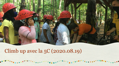 Vorschaubild zur Meldung: Classe 5c - Climb up