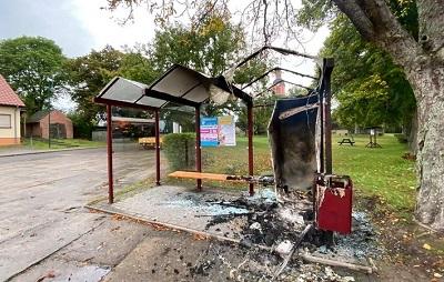 Brandschaden in Blumberg