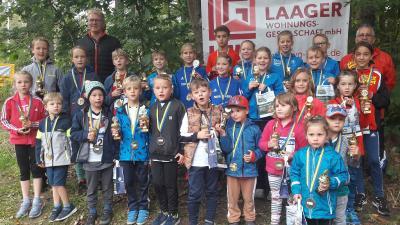 Foto zur Meldung: Laager Kinderlauf sorgt für Stimmung und gute Laune