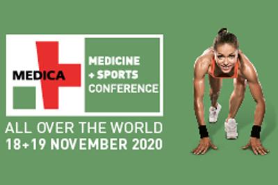 Das Ticketing für die virtual.MEDICA MEDICINE + SPORTS CONFERENCE ist geöffnet