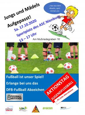 Aktionstag Jugendfußball