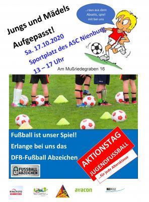 Foto zur Meldung: Aktionstag Jugendfußball