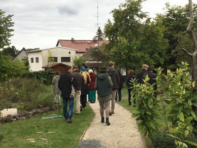 Besuch im Kräutergrten