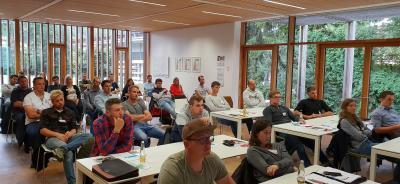 Erfolgreiches Treffen der nächsten Holzbaugeneration in der Rhön.