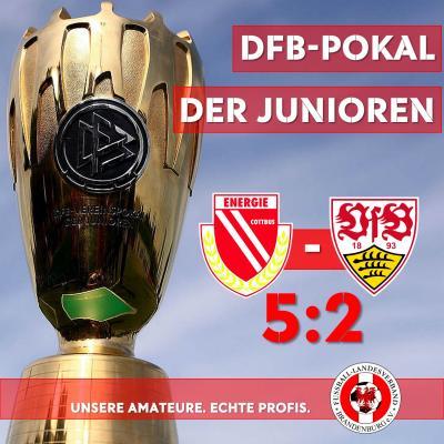 Vorschaubild zur Meldung: FC Energie schlägt den VfB Stuttgart im DFB-Pokal