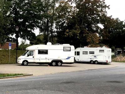 Foto zu Meldung: Wohnmobilstellplatz Lehnin, Rosenparkplatz