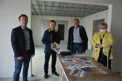 Stephan Michelis, Udo Schenk, Dr. Torsten Bock und Resi Kämling I Foto: Martin Ferch