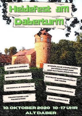 Vorschaubild zur Meldung: Unterhaltung und Information beim Heidefest in Alt Daber