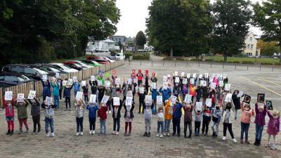 Foto zur Meldung: Klasse 4d: Der 60. Geburtstag