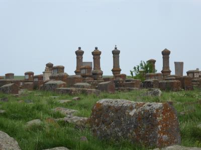 Friedhof Noratus in Armenien