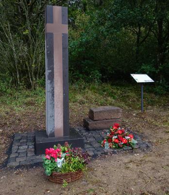 Foto zur Meldung: Einweihung des neuen Münsterbergkreuzes