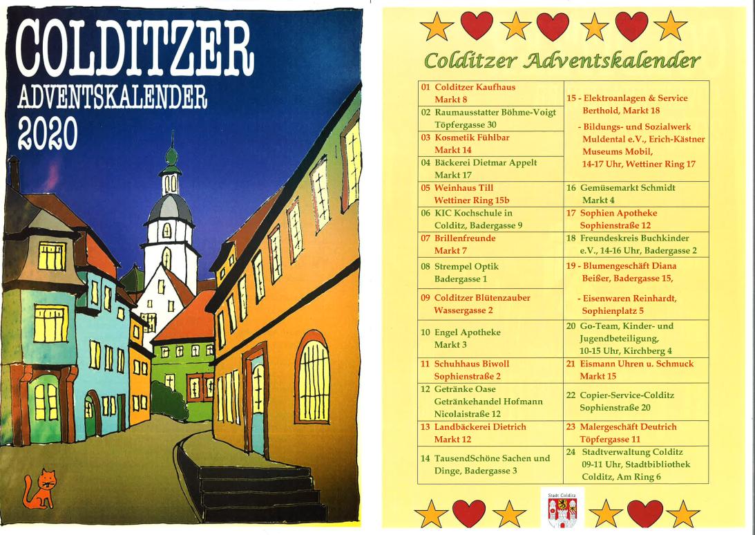 Colditzer Adventskalender