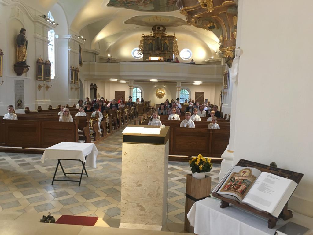 Dankgottesdienst Blaibach Kommunion 2021 1