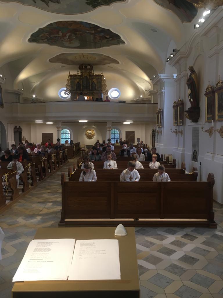 Dankgottesdienst Blaibach Kommunion 2021 3