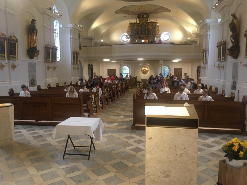 Dankgottesdienst Blaibach Kommunion 2021 2