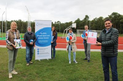 Vorschaubild zur Meldung: KSB gewinnt 1000€ beim Sparkassen-Sportabzeichenwettbewerb