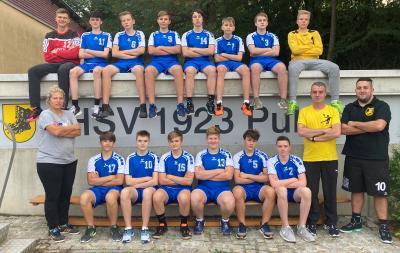 Mannschaftsfoto MJB