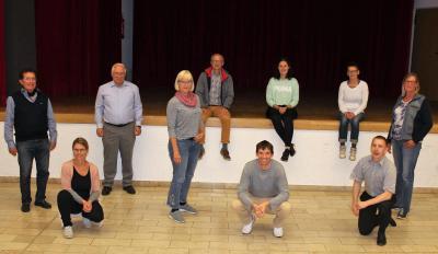 Die Vorstandsmitglieder des TSV, Stand 25. September 2020