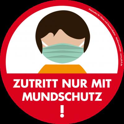 Foto zur Meldung: Maskenpflicht auf dem Schulgelände der PUS - auch auf dem Schulhof und auch bei Überquerung zum Beispiel mit dem Fahrrad