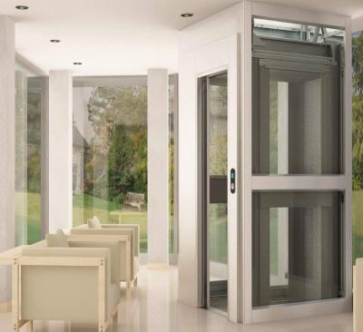 Aufzug Monte Rosa im Innenbereich eines Einfamilienhauses