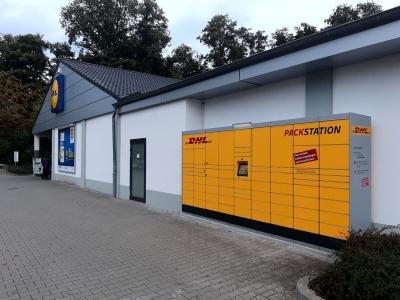 Foto zu Meldung: Post-DHL-Packstation jetzt auch in Lehnin
