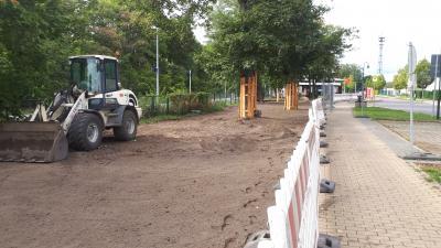 Foto zur Meldung: Projekt Bahnhofsvorplatz