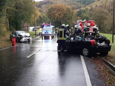 Verkehrsunfall an der Langen Ricke