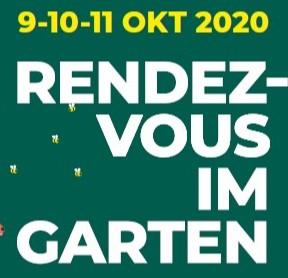 """""""Rendezvous im Garten"""" startet: 9.-11. Oktober 2020"""