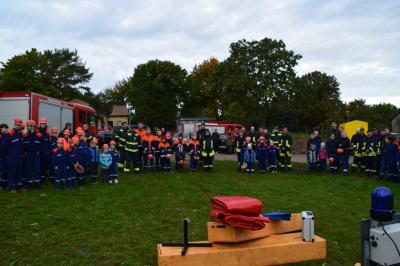 Vorschaubild zur Meldung: gemeinsamer Ausbildungstag der Jugendfeuerwehren der Stadt Pritzwalk