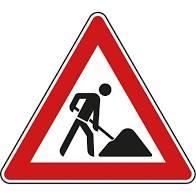 Foto zu Meldung: Verkehrsbehinderungen in der Industriestraße, Zufahrt Globus-Baumarkt und Firma Weisgerber