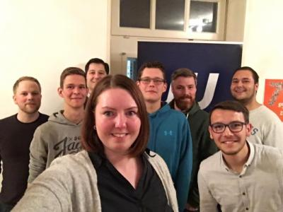 Bild der Meldung: Junge Union Niedergrafschaft wählt neue Vorsitzende - Merle Deters übernimmt nach fünf Jahren den Vorsitz von Andreas Zafri