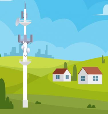 Vorschaubild zur Meldung: Informationen vom Deutschen Städte- und Gemeindebund zum Thema Mobilfunk
