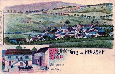 Vorschaubild zur Meldung: Die Chronik von Neudorf geht online