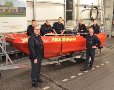 11 neue Bootsführer für die Feuerwehr Hörstel