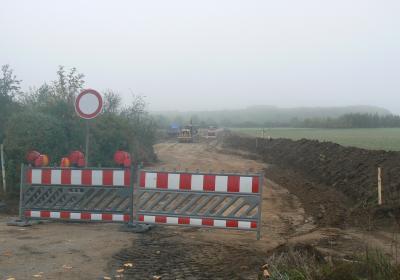 Vorschaubild zur Meldung: Gemeinde Sennfeld baut Kernweg 102 aus - Neuer Bauhof Am Prünkel erhält neue Zufahrt