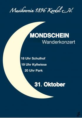 Mondschein-Wanderkonzert 31.10.2020