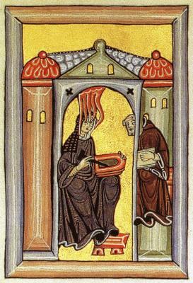 Inspiration der Hildegard von Bingen