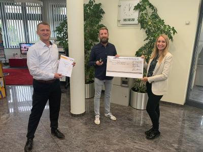 15.10.2020 - Matthias Jung nahm die Auszeichnung dankend entgegen