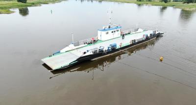 Foto zur Meldung: Fähre Arneburg - Einstellung des Fährbetriebs aufgrund steigender Wasserstände ab 17.10.2020
