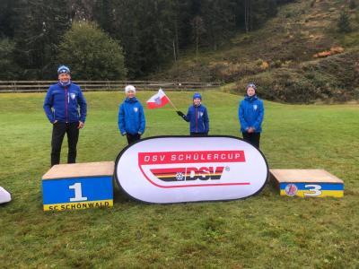 Foto zur Meldung: Deutscher Schülercup S12 in Schönwald