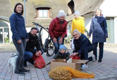 Foto zur Meldung: Bürgerverein lässt Schafflund erblühen