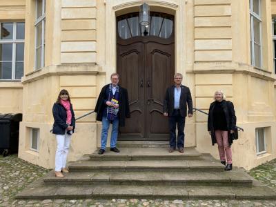 Foto zu Meldung: Besuch des Bezirksbürgermeisters Naumann aus Berlin in Kloster Lehnin